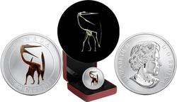 PREHISTORICAL CREATURES -  QUETZALCOATLUS -  2013 CANADIAN COINS 02