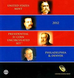 PRESIDENTIAL DOLLARS -  2012