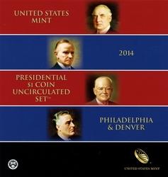 PRESIDENTIAL DOLLARS -  2014
