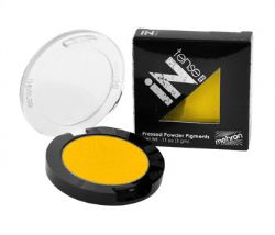 PRESSED PIGMENTS MAKE-UP -  YELLOW 0.11 OZ - 3 G -  INTENSE PRO