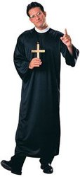 PRIESTS AND NUNS -  PRIEST COSTUME (ADULT - STANDARD 40-44)