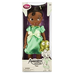 PRINCESS AND THE FROG, THE -  TODDLER TIANA DOLL (16