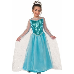 PRINCESS -  PRINCESS KRYSTAL COSTUME (CHILD)