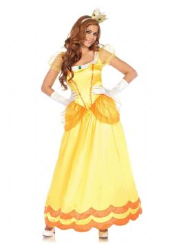 PRINCESS -  SUNFLOWER PRINCESS COSTUME (ADULT)