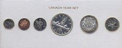 PROOF-LIKE SETS -  1956 UNCIRCULATED PROOF-LIKE SET -  1956 CANADIAN COINS 04