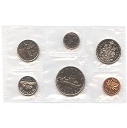 PROOF-LIKE SETS -  1968 UNCIRCULATED PROOF-LIKE SET - SMALL ISLAND -  1968 CANADIAN COINS 16