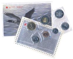 PROOF-LIKE SETS -  1997 UNCIRCULATED PROOF-LIKE SET - WINNIPEG -  1997 CANADIAN COINS 45