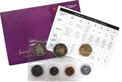 PROOF-LIKE SETS -  2003 UNCIRCULATED PROOF-LIKE SET - UNCROWNED PORTRAIT -  2003 CANADIAN COINS