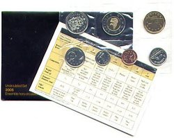 PROOF-LIKE SETS -  2005 UNCIRCULATED PROOF-LIKE SET -  2005 CANADIAN COINS 58