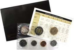 PROOF-LIKE SETS -  2007 UNCIRCULATED PROOF-LIKE SET - CURVED 7 -  2007 CANADIAN COINS 62