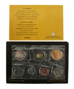 PROOF-LIKE SETS -  2009 UNCIRCULATED PROOF-LIKE SET - WITHOUT MRC LOGO -  2009 CANADIAN COINS 66