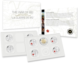 PROOF-LIKE SETS -  2013 UNCIRCULATED PROOF-LIKE SET - WAR OF 1812 -  2013 CANADIAN COINS 76