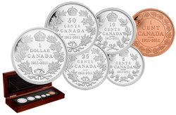 PROOF SETS -  100TH ANNIVERSARY OF CANADA'S 1911 SILVER DOLLAR - SPECIAL EDITION -  2011 CANADIAN COINS