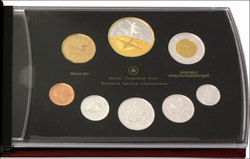 PROOF SETS -  100TH ANNIVERSARY OF FLIGHT IN CANADA -  2009 CANADIAN COINS 39
