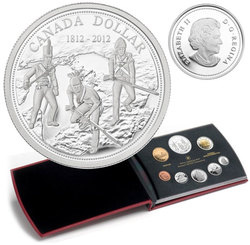 PROOF SETS -  200TH ANIVERSARY OF THE WAR OF 1812 -  2012 CANADIAN COINS 42