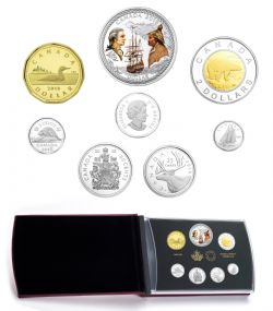 PROOF SETS -  240TH ANNIVERSARY OF CAPTAIN COOK AT NOOTKA SOUND -  2018 CANADIAN COINS 48
