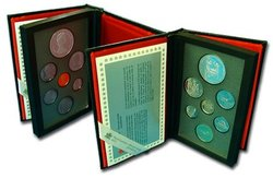 PROOF SETS -  250TH ANNIVERSARY OF THE SAINT-MAURICE IRONWORKS -  1988 CANADIAN COINS 18