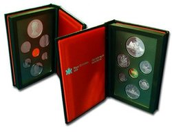 PROOF SETS -  400TH ANNIVERSARY OF JOHN DAVIS' HISTORIC EXPEDITION -  1987 CANADIAN COINS 17