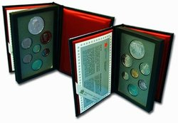PROOF SETS -  KINGSTON TO YORK STAGECOACH -  1992 CANADIAN COINS 22