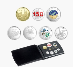 PROOF SETS -  OUR HOME AND NATIVE LAND -  2017 CANADIAN COINS 47