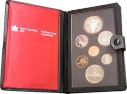 PROOF SETS -  REGINA CENTENNIAL -  1982 CANADIAN COINS 12