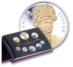 PROOF SETS -  THAYENDANEGEA (JOSEPH BRANT) -  2007 CANADIAN COINS 37