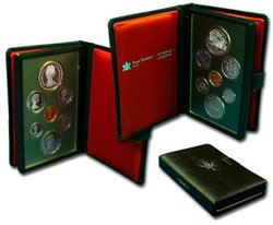 PROOF SETS -  TRANS-CANADA RAILWAY CENTENNIAL -  1981 CANADIAN COINS 11