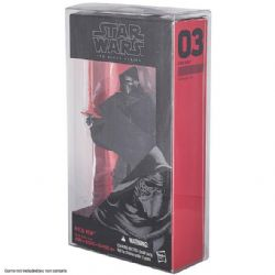 PROTECTOR BOX -  STAR WARS BLACK SERIES 6'' RED/ THE FORCE AWAKENS (BLACK BOX)