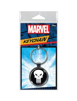 PUNISHER -  LOGO KEYCHAIN