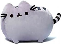 PUSHEEN -  GREY PLUSH (12