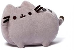 PUSHEEN -  GREY PLUSH (6