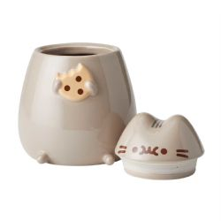 PUSHEEN -  PUSHEEN CERAMIC COOKIE JAR (8INCHES)