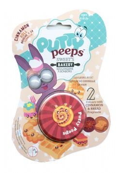 PUTTY PEEPS -  CINNAMON ROLL -  SWEET'S BAKERY
