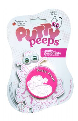 PUTTY PEEPS -  PINK -  METALLIC COLORS