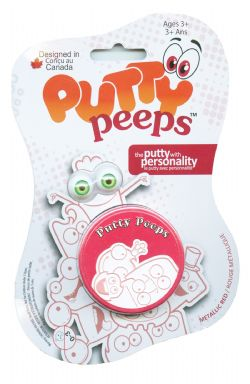 PUTTY PEEPS -  RED -  METALLIC COLORS
