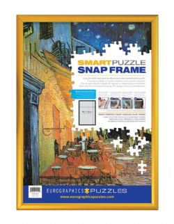 PUZZLE FRAME GOLD (19.25