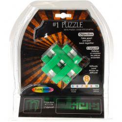 PUZZLE MASTER -  #1 METAL PUZZLE - DIFFICULTY 8/10 - MINIMUM ORDER - 6 PCS