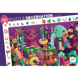 PUZZLE OBSERVATION -  IN A VIDEO GAME (200 PIECES) - 6+