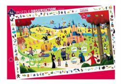PUZZLE OBSERVATION -  TALES (54 PIECES) - 4+
