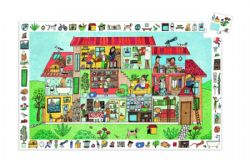 PUZZLE OBSERVATION -  THE HOUSE (35 PIECES) - 3+