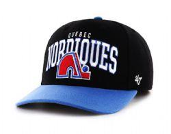 QUÉBEC NORDIQUES -  ADJUSTABLE CAP - BLACK
