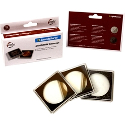 QUADRUM INTERCEPT -  SQUARE CAPSULES WITH PROTECTION FOR 38 MM COINS (PACK OF 6)