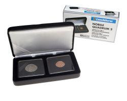 QUADRUM -  NOBILE CASE FOR 2 QUADRUM COIN CAPSULES