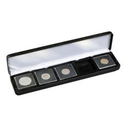 QUADRUM -  NOBILE CASE FOR 5 QUADRUM COIN CAPSULES
