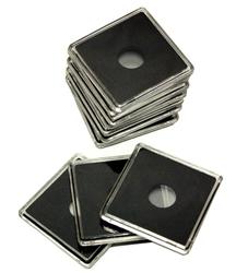 QUADRUM -  SQUARE CAPSULES FOR 15 MM COINS (PACK OF 10)