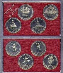 QUEBEC CARNIVAL -  1983 QUEBEC CARNIVAL 4-COIN SET