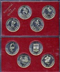 QUEBEC CARNIVAL -  1986 QUEBEC CARNIVAL 4-COIN SET