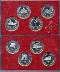 QUEBEC CARNIVAL -  1990 QUEBEC CARNIVAL 4-COIN SET