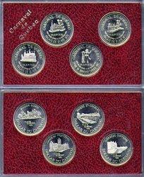 QUEBEC CARNIVAL -  1992 QUEBEC CARNIVAL 4-COIN SET