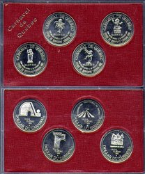 QUEBEC CARNIVAL -  4-COIN SET -  1985 CANADIAN COINS